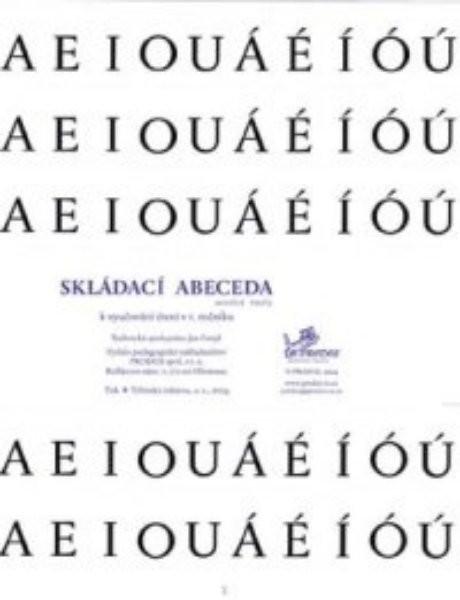 Skládací abeceda k vyučování čtení v 1.ročníku ZŠ