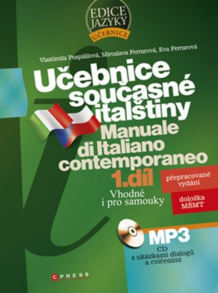 Učebnice současné italštiny 1. díl (kniha + CD MP3)