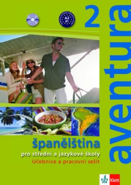 Aventura 2 - Učebnice + pracovní sešit + 2 audio CD