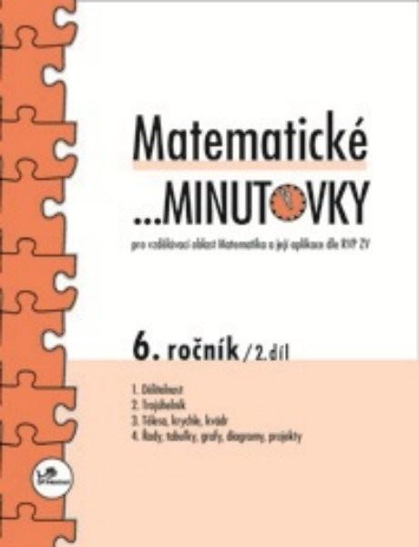 Matematické minutovky 6.r. - 2.díl
