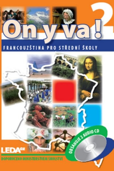 On y va! 2 Francouzština pro SŠ - učebnice + audio CD (2)