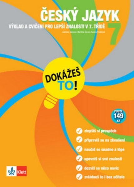 Český jazyk 7 - Výklad a cvičení pro lepší znalosti v 7. třídě