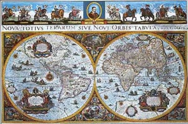 Historický svět - nástěnná mapa (160 x 110 cm)
