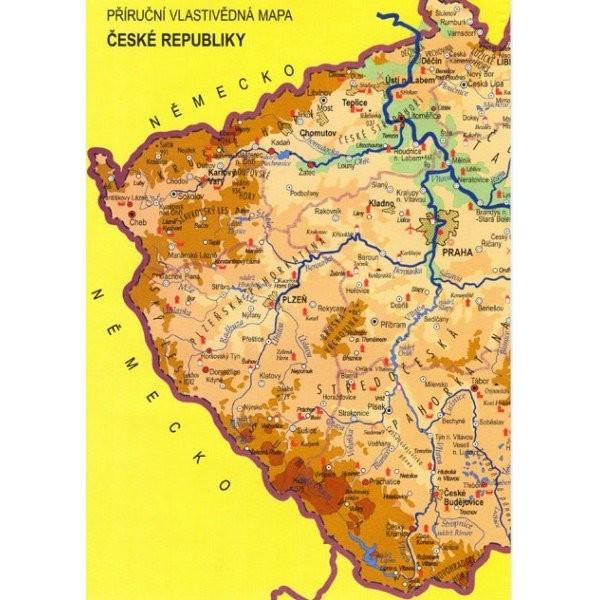 Náhradní mapa k učebnici Vlastivěda 4.r. ZŠ (Česká republika)