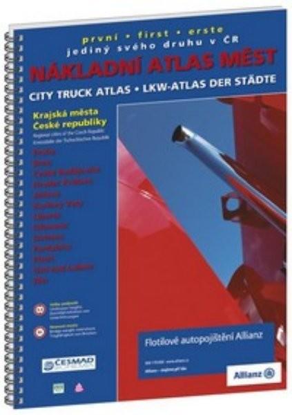 Nákladní atlas měst ČR - Krajská města České republiky
