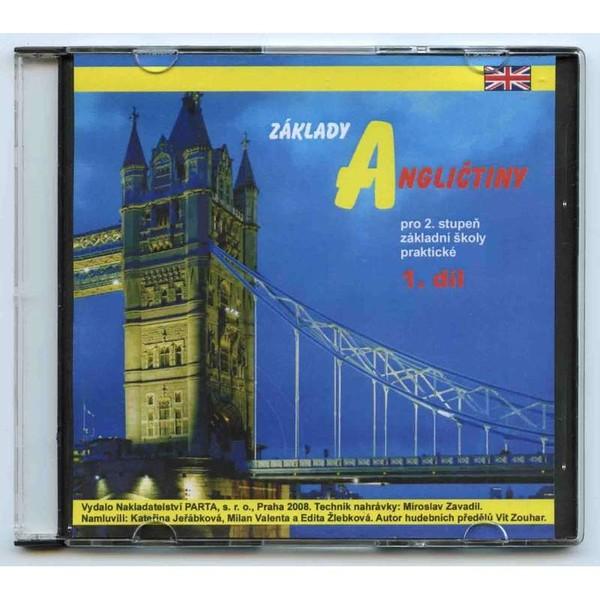 Základy angličtiny 1.díl - zvuková nahrávka na CD