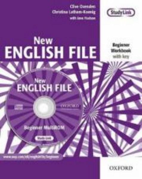New English File Beginner - Workbook with key + MultiROM (pracovní sešit s klíčem)