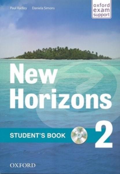 New Horizons 2 Student´s Book with MultiROM (učebnice)