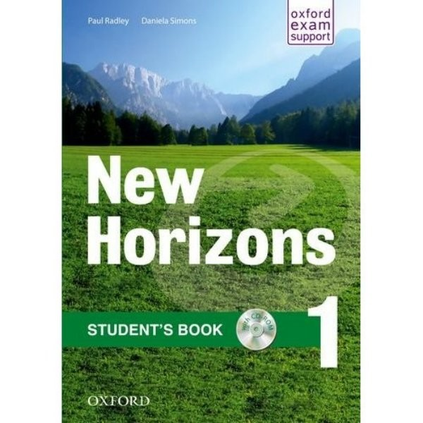 New Horizons 1 Students Book with CD-ROM (učebnice)
