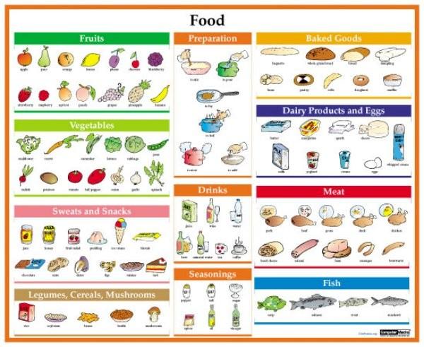 Food (lamino, A4)