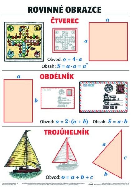 Rovinné obrazce (nástěnná tabule)
