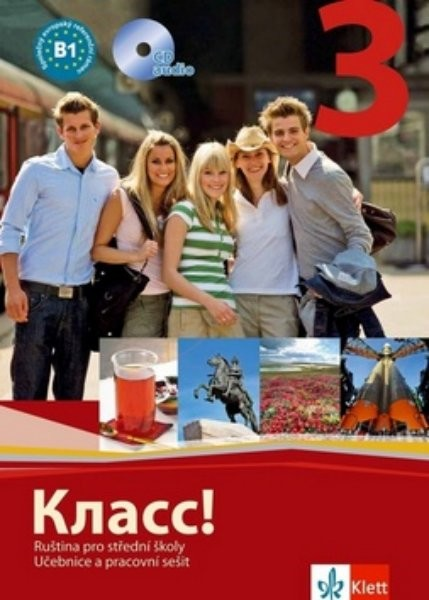 Klass! 3 Ruština pro střední školy - učebnice, pracovní sešit, CD
