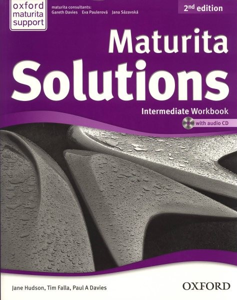 Maturita Solutions 2nd Edition Intermediate Workbook with Audio CD (pracovní sešit)