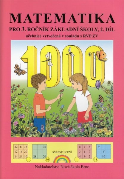 Matematika pro 3.ročník ZŠ 2.díl - učebnice