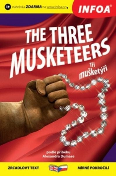Tři mušketýři - The Three Musketeers (zrcadlový text)