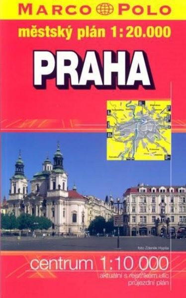 Praha - knižní plán 1:20 000
