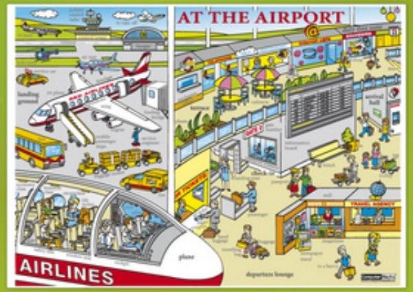 At the Airport (lamino, A4)