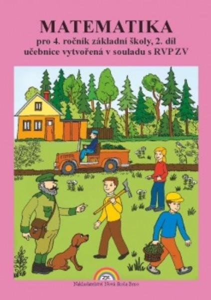 Matematika pro 4.ročník ZŠ 2.díl - učebnice
