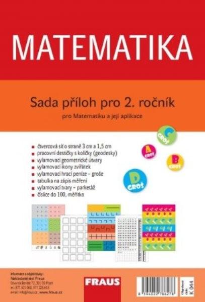 Sada příloh k Matematice pro 2. ročník