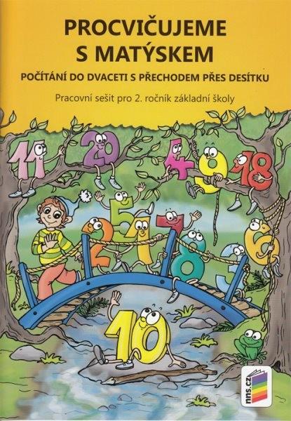 Procvičujeme s Matýskem - Počítání do dvaceti s přechodem přes desítku 2.r.