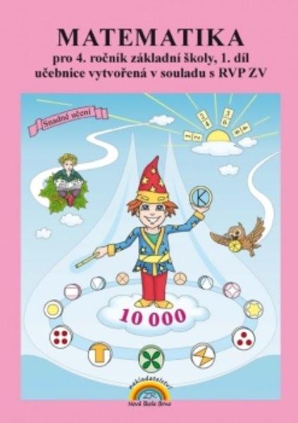 Matematika pro 4.ročník ZŠ 1.díl - učebnice