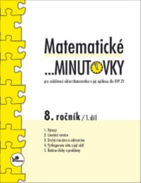 Matematické minutovky 8.r. - 1.díl