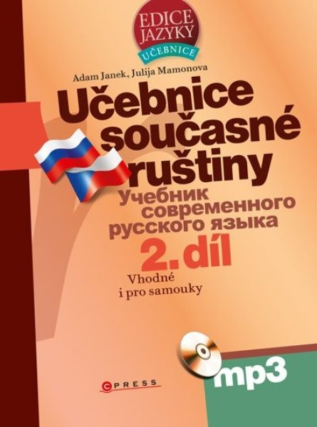 Učebnice současné ruštiny 2.díl + CD MP3