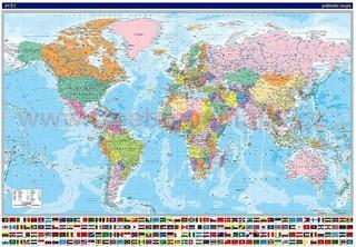 Obří svět (česky) - 195x135 cm