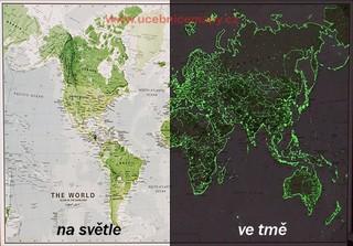 Svět svítící (85 x 60 cm)