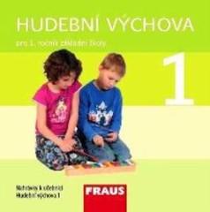Hudební výchova 1.r. Audio CD