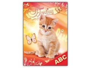 Desky na abecedu - Koťátko
