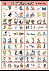 Protiklady v angličtině (nástěnná tabule 100x70 cm)