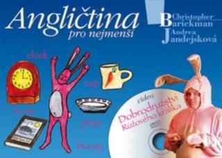 Angličtina pro nejmenší - Zábavná angličtina pro děti + DVD