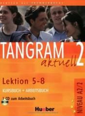 Tangram aktuell 2 (Lektion 5-8) Kursbuch + Arbeitsbuch + CD