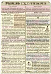 Přehled dějin filozofie (dvojlist A4, 4 strany)