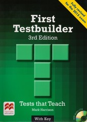 First Testbuilder - With Key + Audio CD Pack