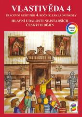 Vlastivěda 4.r. - Hlavní události nejstarších českých dějin - barevný pracovní sešít
