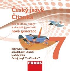 Český jazyk/Čítanka 7.r. ZŠ - audio CD (nová generace)