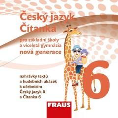 Český jazyk/Čítanka 6.r. ZŠ - audio CD (nová generace)