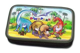 Školní penál Dinopark (dvoupatrový)