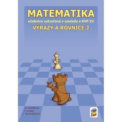 Matematika 8.r. - Výrazy a rovnice 2 (učebnice)
