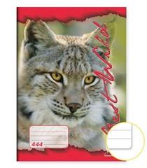 Sešit 444 - A4, 40 listů, linkovaný