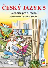 Český jazyk 5.r. učebnice (vytvořená v souladu s RVP ZV)