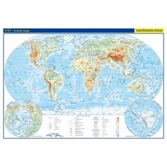 Svět - příruční mapa (lamino, A3)