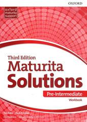 Maturita Solutions 3rd Edition Pre-intermediate Workbook (Czech Edition)