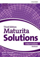 Maturita Solutions 3rd Edition Intermediate Workbook (Czech Edition)