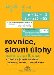 Rovnice, slovní úlohy - pracovní sešit pro 9. ročník