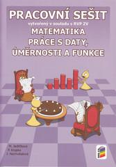 Matematika 9.r. - Práce s daty, úměrnosti a funkce (pracovní sešit)