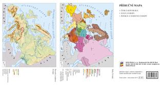Náhradní mapa k učebnici Vlastivěda 5.r. ZŠ (Česká republika jako součást Evropy)