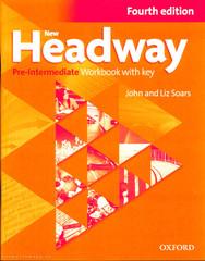New Headway Pre-intermediate 4.vyd. Workbook with key (pracovní sešit s klíčem)
